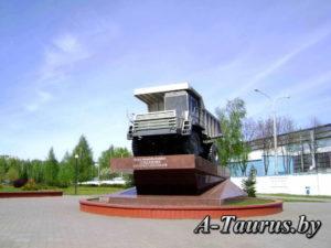 Монумент в честь БЕЛАЗа