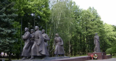 Монумент в честь советской матери-патриотки А.Ф.Куприяновой