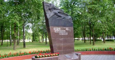 Памятник Куприянову Петру Ивановичу в Жодино