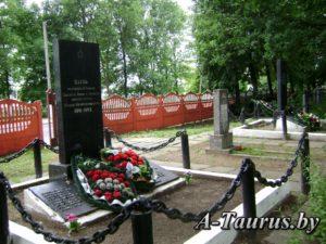 Воинское захоронение на Смолевичском кладбище