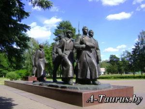 Постамент мемориала в честь Куприяновой