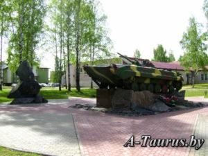 Памятник погибшим в Афганистане в Жодино