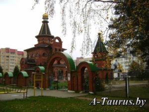 Свято-Благовещенский храм, посёлок Лесной
