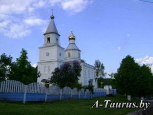 православный храм в Логойске