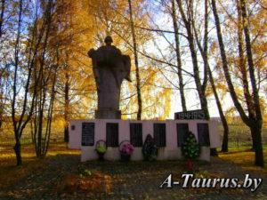 Памятник воинского захоронения Швабы