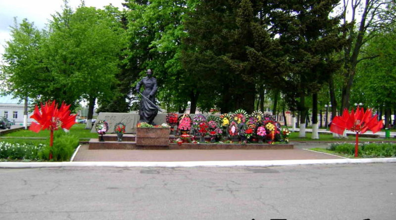 Червень, памятник землякам
