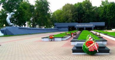 Мемориальный комплекс Слуцк, общий вид