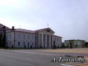 Здание исполкома на площади Логойска