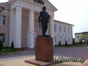 Памятник Ленину в Логойске