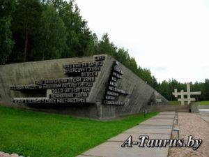 Стена памяти в Хатыни