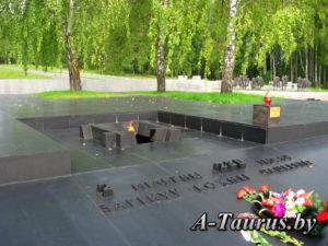 Вечный огонь в Хатыни