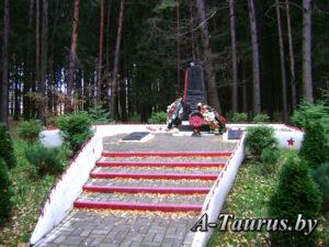 памятник лётчикам Лесной, Боровляны