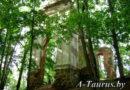 Руины дворца Тышкевичей Логойск