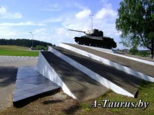 постамент танка Т-34, Острошицкий городок