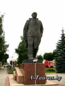 Памятник Ленину Поставы