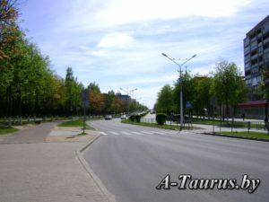 проспект Мира в Жодино