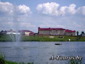 Озеро в центре города Глубокое