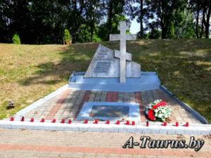 Кореличи, памятник воинам-интернационалистам
