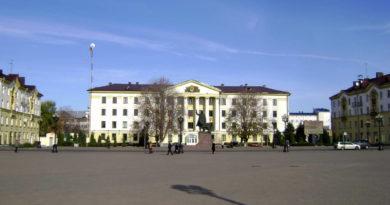 Центральная площадь Борисова