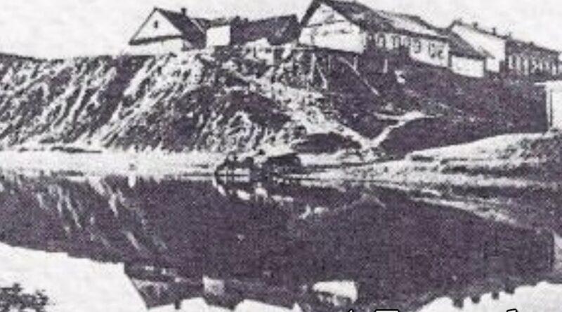 Минское замчище вид в начале 20 века