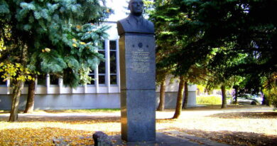 Бюст Зельдовича Якова Борисовича в Минске