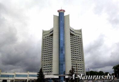 Гостиница Беларусь в Минске, главный вход