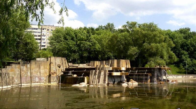 Очистная дамба на улице Карбышева, город Минск