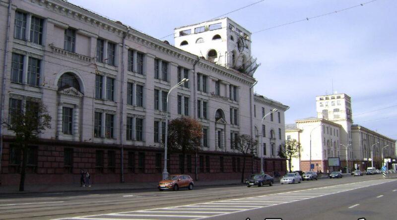 Комплекс производственных зданий на площади Якуба Коласа в Минске